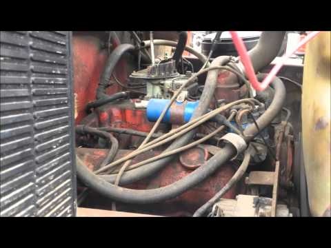 International 345 Gas Engine FOR SALE!!! - YouTube