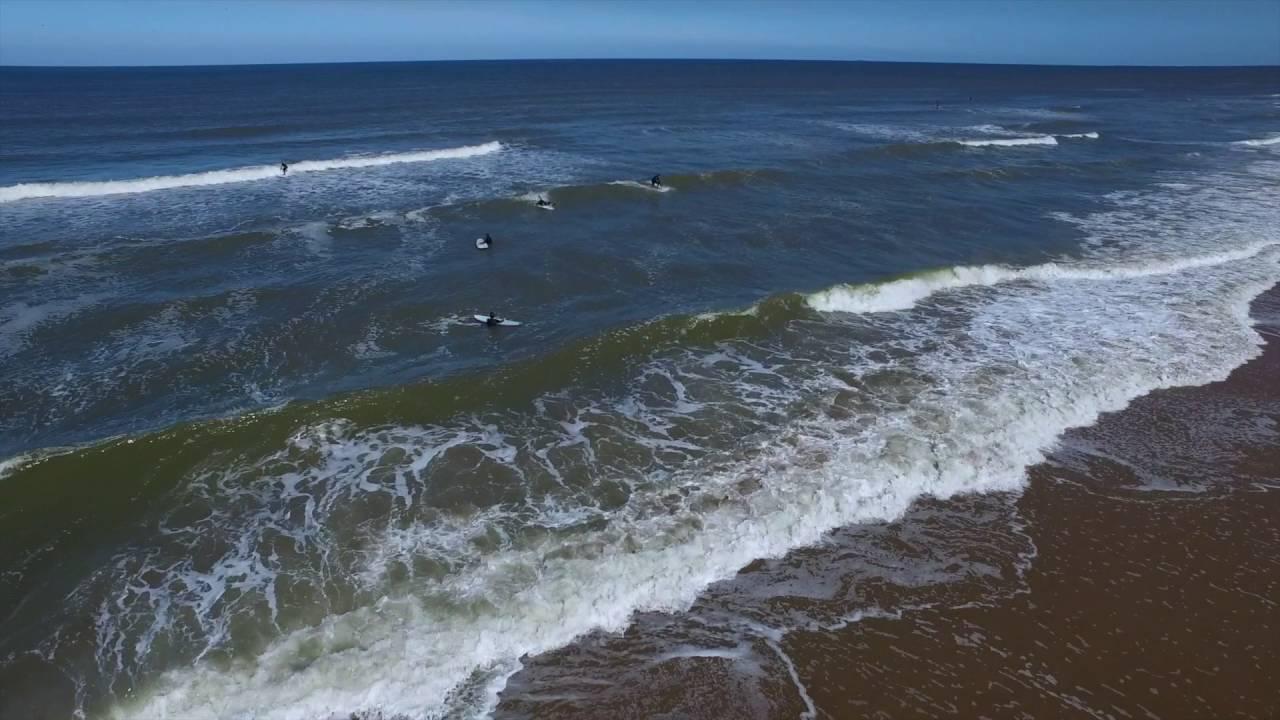 Surfing Zandvoort Dronedoc Nl Youtube