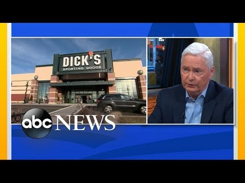 Dick's Sporting Goods to no longer sell assault-style rifles