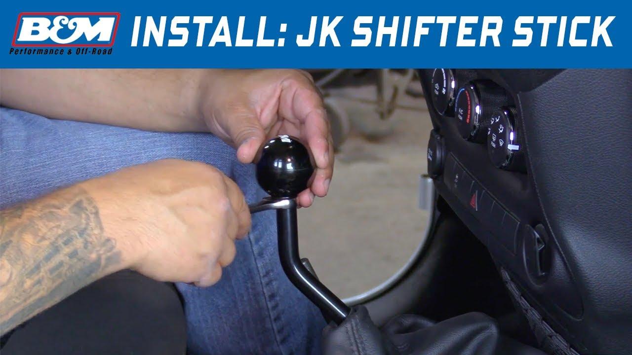 Install Bm Shifter Stick Assembly For 2005 2018 Jeep Wrangler Jk W