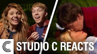 Studio C Reacts: True Love's First Kiss