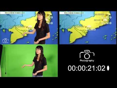 Behind the scenes - Dự báo thời tiết K5TV