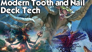 MTG Modern: Tooth and Nail Deck Tech - Playing on a Budget