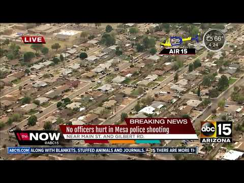 AIR15: Officer-involved shooting in Mesa