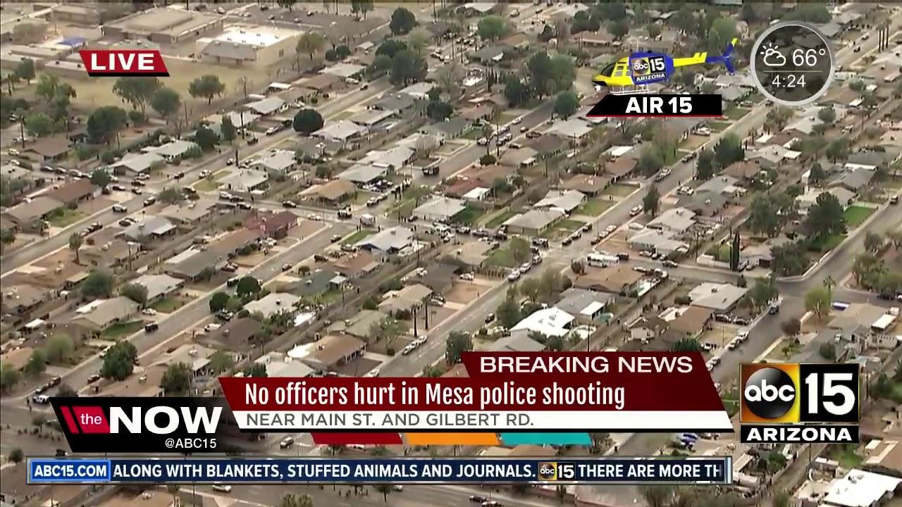 AIR15: Officer-involved shooting in Mesa | 1ClickDaily com