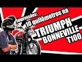 Impressões: 10 km numa Triumph Bonneville T100.