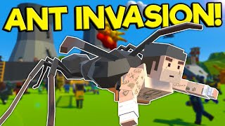 Mutant Ants Attack the Town! - Tiny Town VR Gameplay - Valve Index Virtual Reality