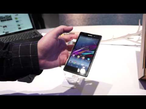Hands-On with the Sony Xperia Z1 at IFA 2013