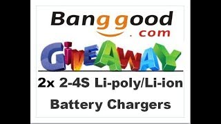 Banggood RC Giveaway - Two Aluminium Battery chargers up for grabs