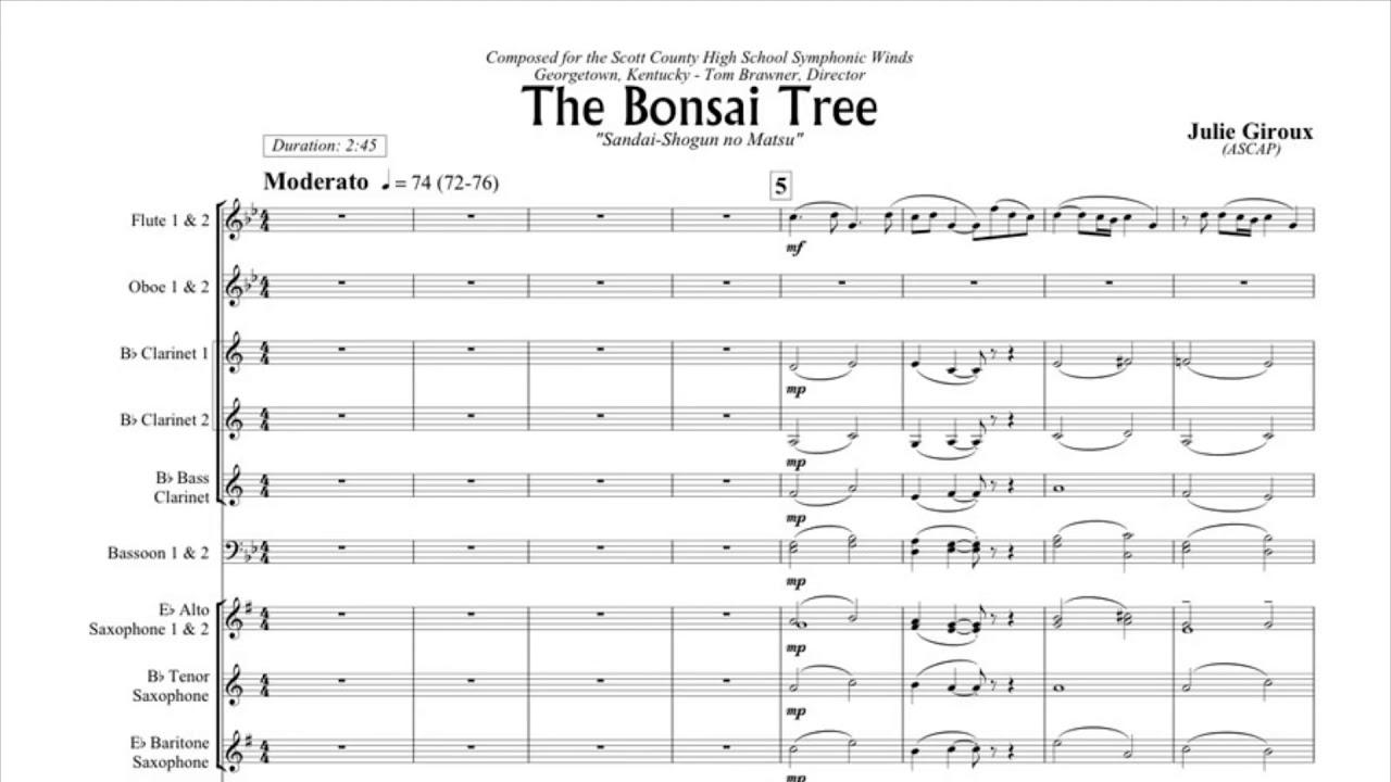The Bonsai Tree Julie Giroux Bonsai Tree