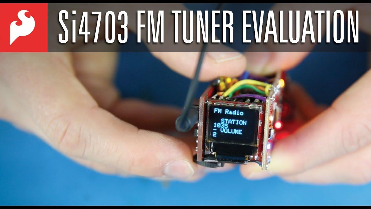 SparkFun FM Tuner Evaluation Board - Si4703 | Electronics123
