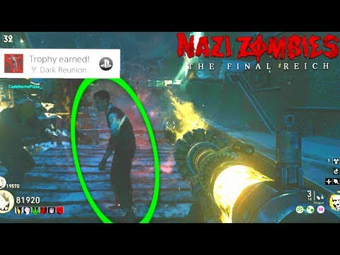 cod ww2 zombies hard easter egg guide