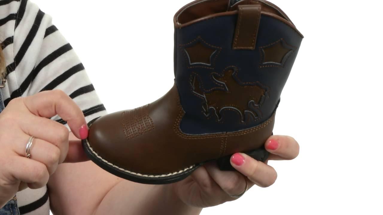 19693ada9a1 Roper Kids Western Lights Cowboy Boots (Infant/Toddler) SKU:7678592