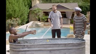 Kevin Hart v Usain Bolt ICE BATH CHALLENGE