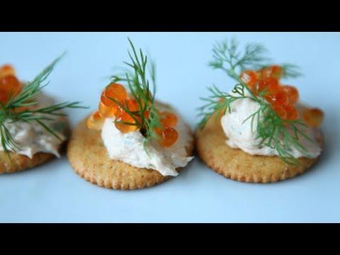 amuse-gueules-festifs:-le-saumon-fumé-de-trois-façons