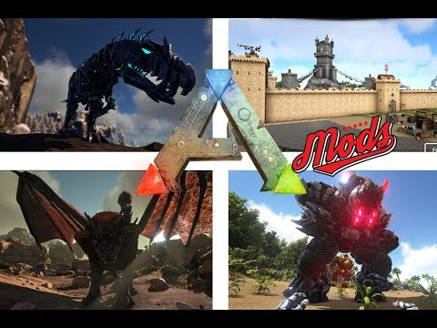 TOP 10 BEST ARK MODS!! (UPDATED JULY 2017)
