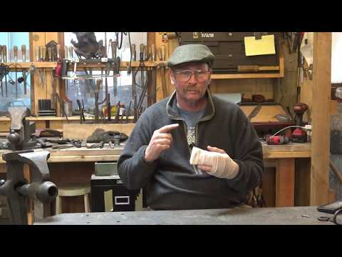 A look at a preventable accident - or - don't do what I did - blacksmithing accident