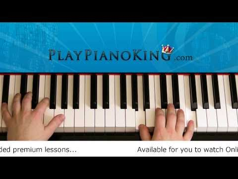How to Play Just The Way You Are by Bruno Mars Piano Tutorial
