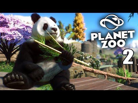 ЗАВЕЛА СЕБЕ ПАНД ►💚МОЙ ЗООПАРК ► Planet Zoo