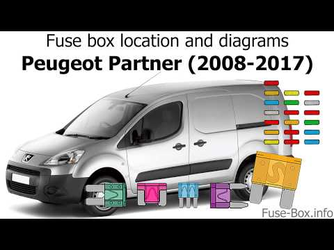 fuse box location and diagrams peugeot partner (2008 2017) youtube Peugeot Partner Door Handle