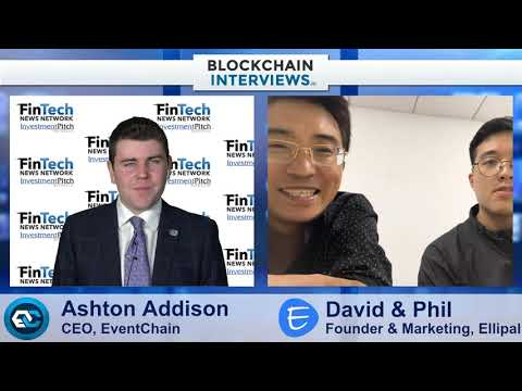Blockchain Interviews -Ellipal Cryptocurrency Cold Wallet,  David & Phil
