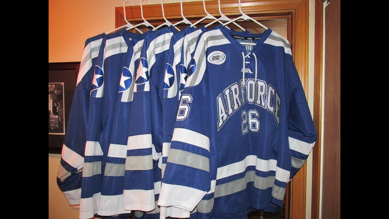 Air Force Falcons Hockey Jersey - YouTube 47fe072e7c8
