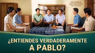 "Fragmento 3 de película evangélico ""Recuerdos que escuecen"": ¿Entiendes verdaderamente a Pablo?"