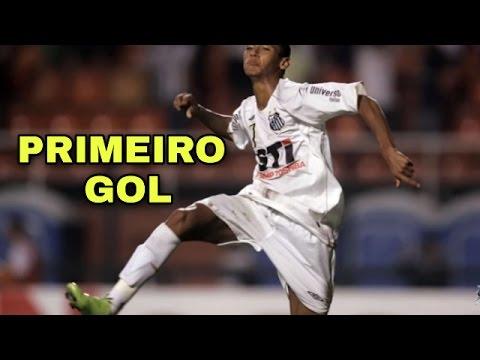 Neymar VS Mogi Mirim (2009)  Seu Primeiro GOL com  CAMISA do  SANTOS  pelo Campeonato Paulista