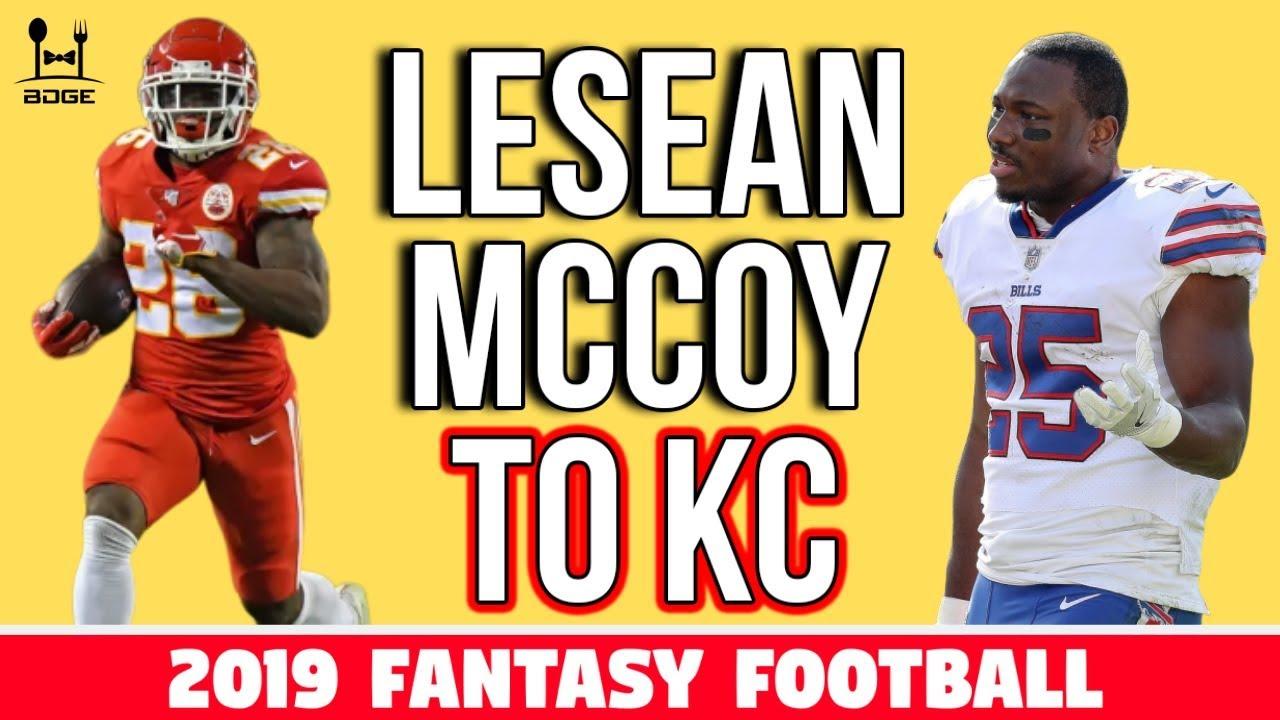 Following Bills cut, LeSean McCoy signing with Chiefs