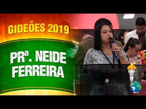 Gideões 2019 - Pastora e Miss  Neide Ferreira