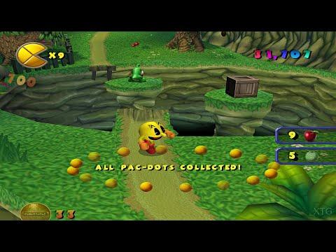 Pac-Man World 2 PS2 Gameplay HD (PCSX2)