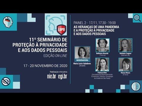 [11° Seminário de Privacidade] As heranças de uma pandemia e a proteção à privacidade e aos dados pessoais