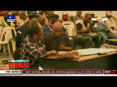 Results Announced At Lagos Collation Centre Pt.4 |The Verdict|