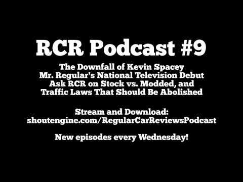 RCR Podcast #9: Mr. Regular's TV Debut