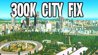 300,000 Citizens NEED Tea & Roundabouts in Cities Skylines!