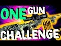 One Gun ONLY Challenge // Fortnite Challenges #3