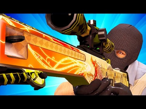 RIP DRAGON LORE! CS GO OVERWATCH HACKER! Funny Counter Strike Global Offensive VAC WALL HACKER