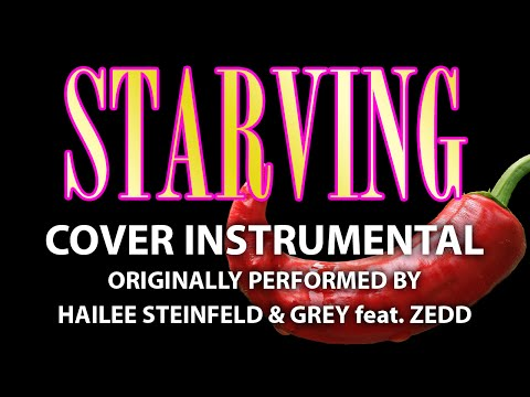 Starving (Cover Instrumental) [In the Style of Hailee Steinfeld & Grey feat. Zedd]