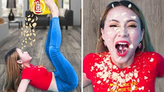 EXTREME HANDS FREE CHALLENGE | Challenge Without Using Hands & Funny Video Compilations by T-FUN