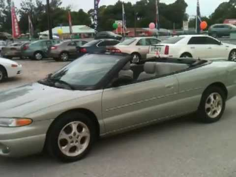 1999 Chrysler Sebring Jxi View Our Cur Inventory At Fortmyerswa
