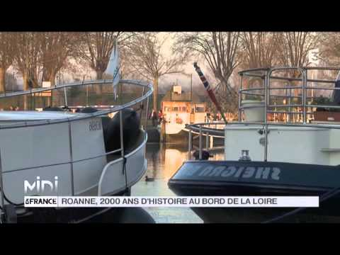 SUIVEZ LE GUIDE : Roanne, 2000 ans d'histoire au bord de la Loire