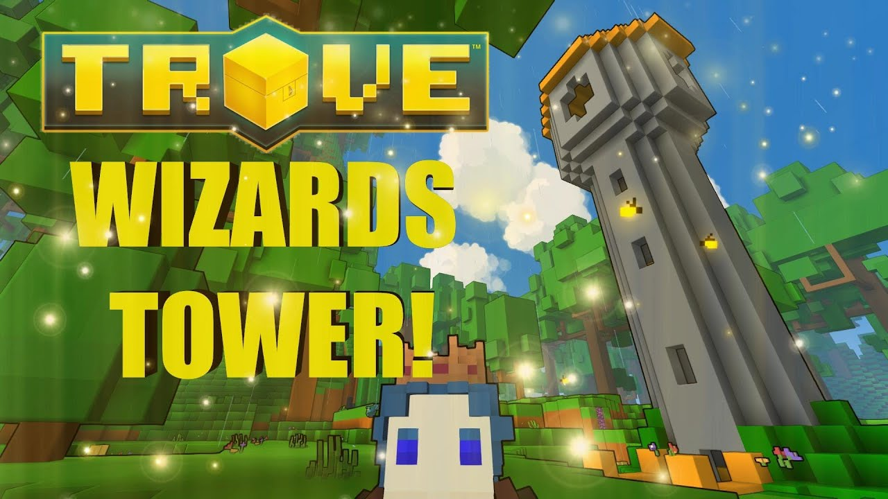 TROVE What To Make Wizards Tower Environment Detail