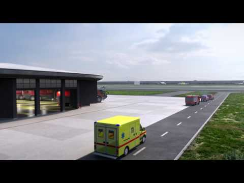 New fire stations at Brussels Airport