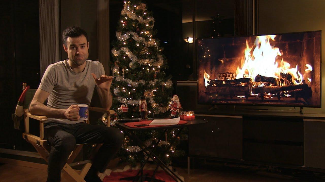 Netflix Christmas Fireplace Review