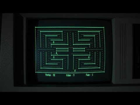 CP/M PAC MAN !!! (Almost...)