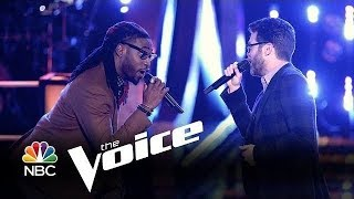 The Voice 2014 Battle   Josh Kaufman vs  Delvin Choice 'Signed Sealed Delivered'