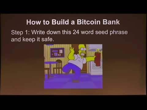 Building on Bitcoin - Building your own bank