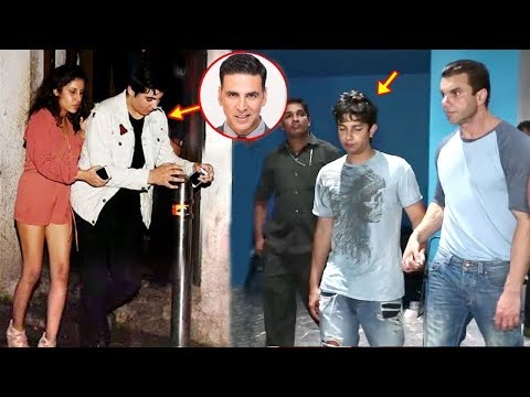 Bollywood Celeb Kids CAUGHT Drunk In Public - Sohail Khan Son,Akshay Kumar Son Aarav,Saif Son