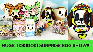 TOKIDOKI Play Doh Donutino Surprise Egg Moofia Frenzies Unicorno Royal Pride PunkStar Blind Box Blin