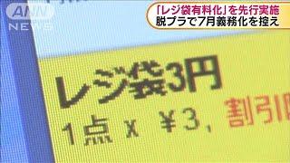 7月義務化を控え 「レジ袋有料化」を先行実施(20/04/02)